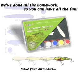 Creative lure crankbait making kit for Fishing lure kits make your own
